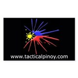 Tactical Pinoy Rectangle Decal