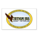 Vietnam Era Vet USAF Decal