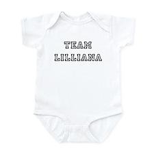 TEAM LILLIANA T-SHIRTS Infant Creeper