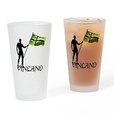 Vinland Patriot Drinking Glass