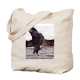 Magnificent Bald Eagle Tote Bag