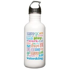 Waterskiing Gift Water Bottle