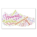 Princess half marathon tennis shoe 13.1 Decal