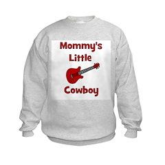 Mommy's Little Cowboy Kids Sweatshirt
