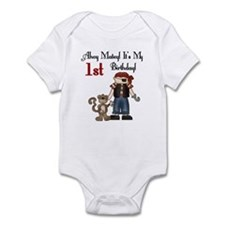 Pirate Party 1st Birthday Infant Creeper