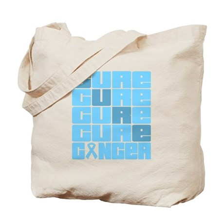CURE Prostate Cancer Collage Tote Bag