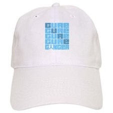 CURE Prostate Cancer Collage Baseball Cap