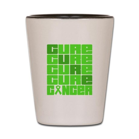 CURE Non-Hodgkins Lymphoma Collage Shot Glass