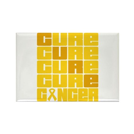 CURE Neuroblastoma Collage Rectangle Magnet