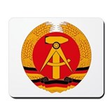 East German Coat of Arms Mousepad