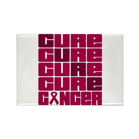 CURE Multiple Myeloma Collage Rectangle Magnet
