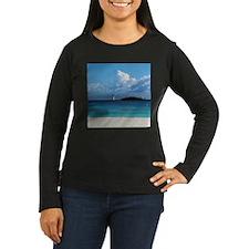 Nassau Bahamas Beach Lighthouse T-Shirt