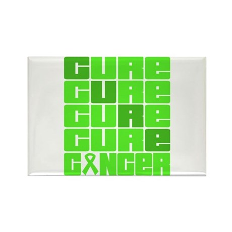 CURE Lymphoma Collage Rectangle Magnet