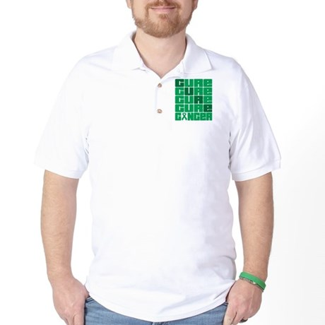 CURE Liver Cancer Collage Golf Shirt