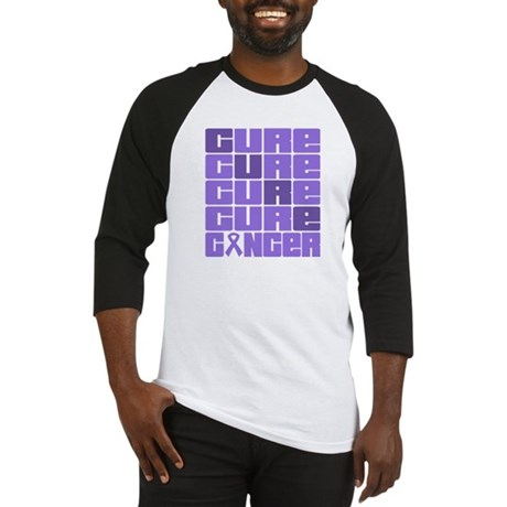 CURE Hodgkins Lymphoma Collage Baseball Jersey