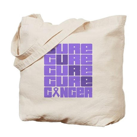 CURE Hodgkins Lymphoma Collage Tote Bag