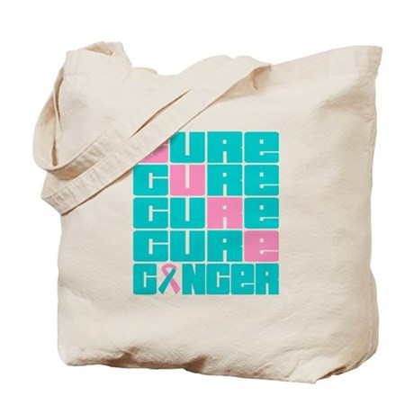 CURE Hereditary Breast Cancer Collage Tote Bag