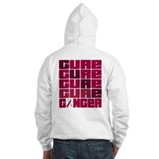 CURE Head Neck Cancer Collage Hoodie