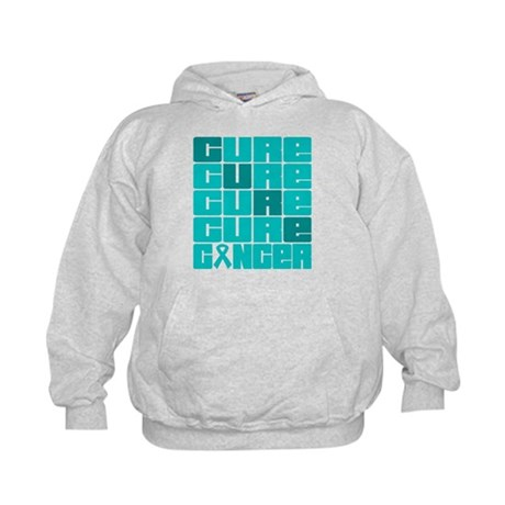 CURE Gynecologic Cancer Collage Kids Hoodie