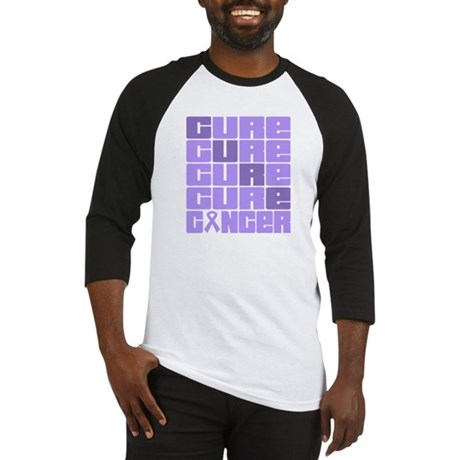 CURE General Cancer Collage Baseball Jersey