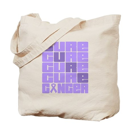 CURE General Cancer Collage Tote Bag