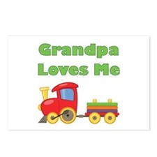 Grandpa Loves Me Postcards (Package of 8)