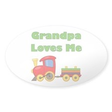 Grandpa Loves Me Decal