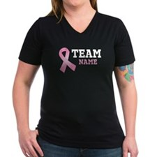 Team Name Breast Cancer Shirt