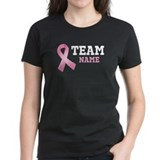 Team Name Breast Cancer Tee