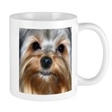 In Your Face Yorkshire Terrier Small Mug