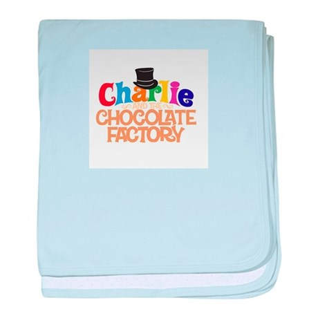 charlie and the chocholate factory baby blanket