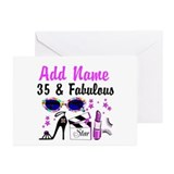 HAPPY 35TH BIRTHDAY Greeting Cards (Pk of 20)