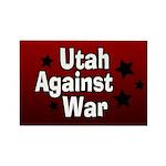 Utah Against War Rectangle Magnet