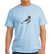 Chickadee Bird T-Shirt T-Shirt
