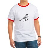 Chickadee Bird T-Shirt T