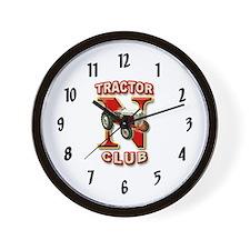 Black NAA Logo Wall Clock
