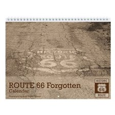 Route 66 Forgotten Wall Calendar