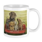 Funny Chesapeake bay retriever art Mug