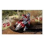 motorcycle-off-road Sticker (Rectangle 10 pk)