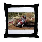 motorcycle-off-road Throw Pillow