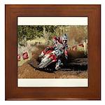 motorcycle-off-road Framed Tile