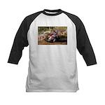 motorcycle-off-road Kids Baseball Jersey