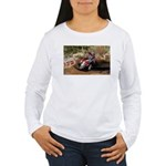 motorcycle-off-road Women's Long Sleeve T-Shirt