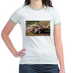 motorcycle-off-road Jr. Ringer T-Shirt