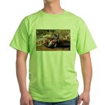 motorcycle-off-road Green T-Shirt
