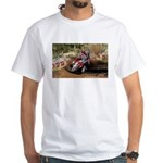 motorcycle-off-road White T-Shirt