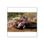 motorcycle-off-road Square Sticker 3