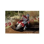motorcycle-off-road Rectangle Magnet (100 pack)