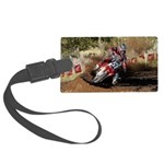 motorcycle-off-road Large Luggage Tag