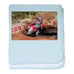 motorcycle-off-road baby blanket